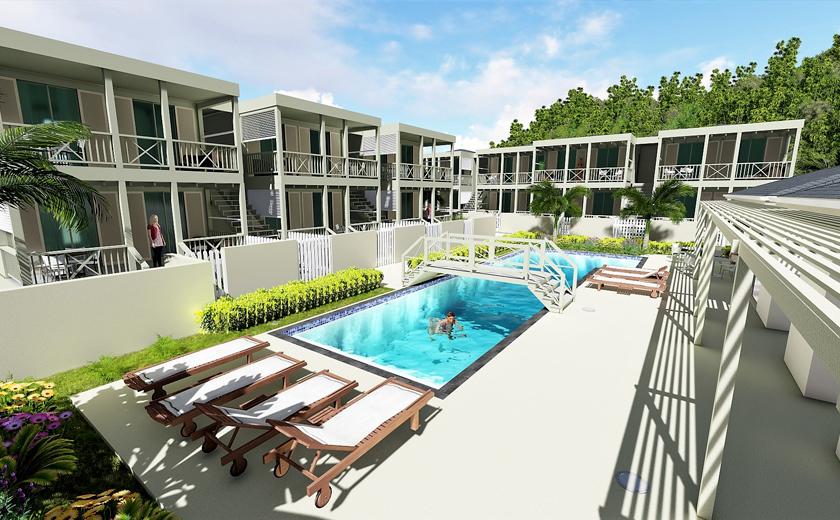 Sviluppo urbano ad Antigua