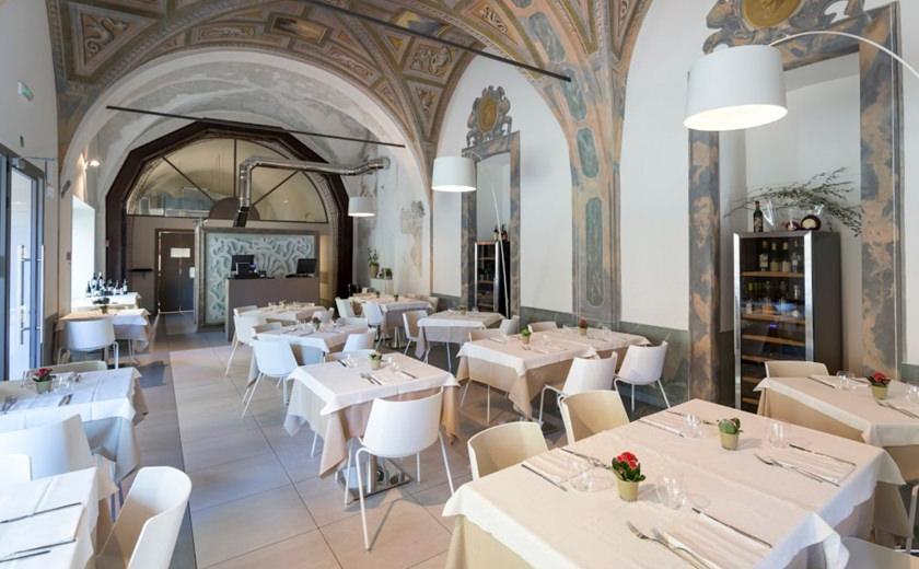 Il ristorante dentro il palazzo antico