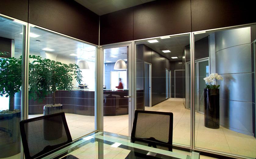 Luce e calore in ufficio